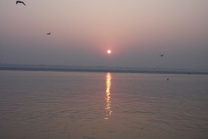 Ganges at sun rise